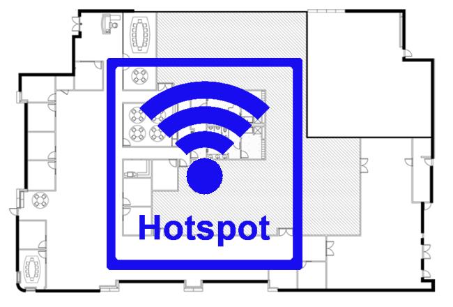 WLAN Event Hotspot mieten für Gäste WiFi auf Veranstaltungen mit 4G LTE Advanced